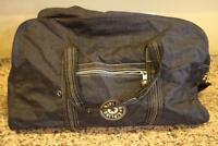 Kipling Black Nylon Large Travel Duffle Bag (210