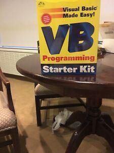 Visual Basic Made Easy VB Programming Starter Kit  Opened But Unused