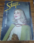 May 1936 STAGE Magazine ENTERTAINMENT Lynn FONTANNE The LUNTS Great ADS Artwork