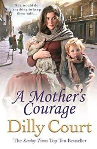 A Mother's Courage by Court, Dilly Book The Cheap Fast Free Post