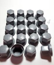 60x WHEEL NUT COVER GREY PLASTIC CAPS BOLT fit SCANIA VOLVO MERCEDES DAF 33mm