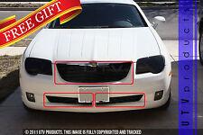 GTG 2004 - 2008 Chrysler Crossfire 3PC Gloss Black Combo Billet Grille Grill Kit