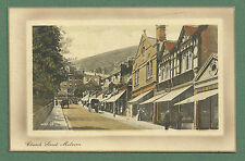 EARLY 1900'S PC CHURCH STREET, MALVERN - SHOPS, HORSEDRAWN VEHICLES
