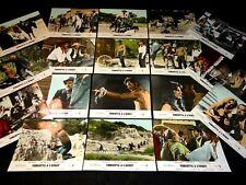 VENDETTA A L' OUEST rare jeu 20 photos cinema western spaghetti 1968