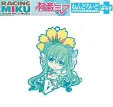 Good Smile GT Project Racing Miku 2017 Nendoroid Plus Trading Rubber Strap D NEW