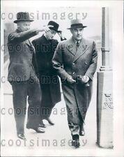 1938 Germany Maj Gen Karl Bodenschatz w Maj Gen Wenninger London Press Photo