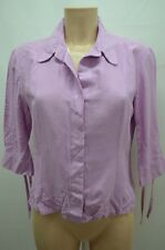 CAROLL CHEMISIER .  VIOLET TAILLE 40 T40 L   SHIRT CAMISA BLUSE BLOUSE