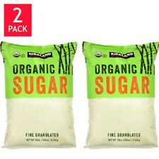 Kirkland Signature Organic Cane Sugar 10 lb. 2 pack = 20 lbs - NEW