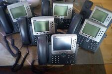 🌟 6x Cisco 7000 Series 7960 cp-7961 7970 POE IP Phone GIG ETHERNET 🌟 █▬█ * ▀█▀ 🌟