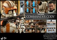 "Hot Toys1/6 Star Wars: Sith Commander Cody's Episode III Revenge 12"" Figure Set"