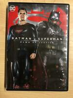 Batman v Superman Dawn of Justice (DVD, DC, 2016) - F1124