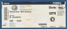 Orig.Ticket  DFB Pokal  2011/12  HOLSTEIN KIEL - MSV DUISBURG  !!  SELTEN