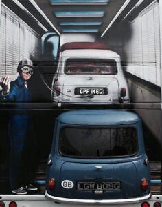 Italian Job Mini Wall Display Huge Wall Art Feature Promotional Crowd Attention