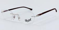 e0384f1268d0 Authentic PERSOL 2417V - 1033 Eyeglasses Beige  NEW  51mm