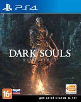 Dark Souls: Remastered (PS4, 2018) Eng,Russian,German,Italian,French,Spanish,Pol