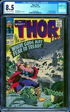 Thor 132 CGC 8.5 -- 1966 -- 1st app Ego.  A+ centering #2003526008