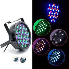 162W LED PAR Light RGBW Stage Lighting Beam Rainbow Effect DMX Disco Party DJ US
