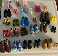 Lot Of 27 Doll Shoes