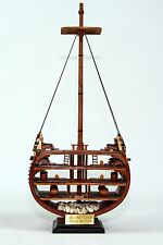 USS Constitution Cross Section Handmade Wooden Ship Model 20""