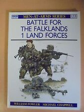 MEN AT ARMS SERIES : BATTLE FOR THE FALKLANDS WILLIAM FOWLER PAPERBACK 1997