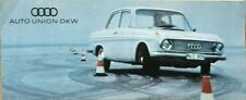 Auto Union DKW All Models  Sales Brochure - WB 5317 (60-D-128)