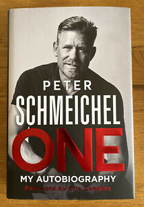 PETER SCHMEICHEL ONE SIGNED MY AUTOBIOGRAPHY BOOK BRAND NEW