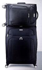 "Samsonite StackIT 2-pc Softside Luggage Spinner Suitcase Set 21"" 25"" Black"
