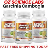 3 x Garcinia Cambogia 180 Capsules - WEIGHT LOSS  FAT BURNER - AUST MADE STOCK