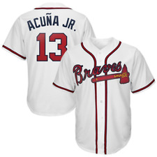 New Atlanta Braves Ronald Acuna JR Jersey Men's All Sizes