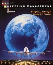Basic Marketing Management 7th Edition  Douglas J Dalrymple & Leonard J Parsons