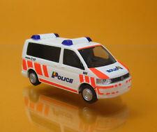 Rietze 53433 Volkswagen VW T5 Police Geneve Schweiz Scale 1 87 NEU OVP