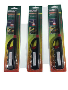 Lot of 6 Gas Lighters 11 Butane Stove Kitchen Fireplace BBQ Grill Utility Lighter