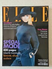 Magazine mode fashion ELLE french #2801 6 septembre 1999 special mode