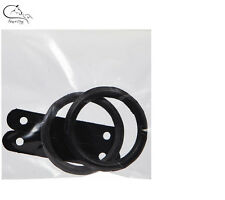 Replacement Rubber Peacock Rings / Leathers For Safety Stirrups FREE DELIVERY