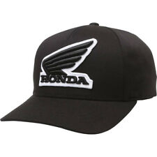 Fox Racing Guys' Honda Flexfit Hat - Black, S/M
