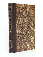 LAMARTINE Le Tailleur de pierres de Saint-Point. Lecou-Furne-Pagnerre 1851. E.O.