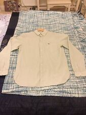 Lacoste Men's Cotton Blend Long Sleeve Casual Shirts & Tops