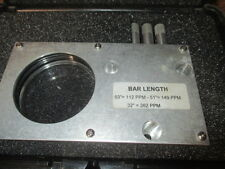 heath consultants omd calibration cell bar length