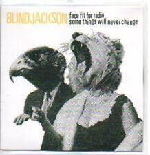 (477H) Blind Jackson, Face Fit for Radio - DJ CD