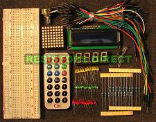 Electronic Project Starter Kit E Basic Arduino Beginners Kit Breadboard,1602,LED