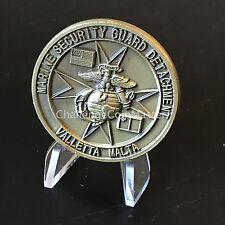 Valletta Malta Marine Security Guard Detachment MSG Challenge Coin