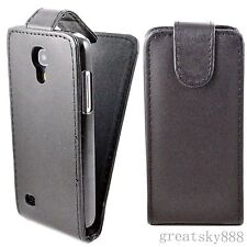Mobile Phone Flip Holster Leather Cover Case For Samsung Galaxy S4 Mini I9190