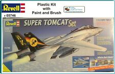 Revell 1/72 F-14D Super Tomcat (Gift Set) 05746 with Paint Glue and Brush.