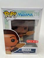 Funko POP! Disney MOANA #216 Target Exclusive Vinyl Figure