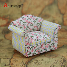 Floral patterns Cloth 1/12 Scale Dollhouse Miniature Furniture chair 10391