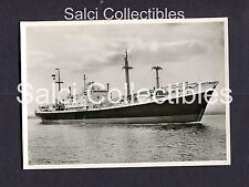 1950's Clivia Cargo Ship A.G. Weser Bremen Photo 4 x 5.75