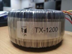 TOA TX-1200 - 100v line 1200watt Toroidal Output Transformer
