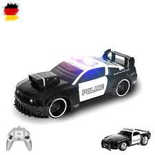RC ferngesteuerter Polizei-Auto mit Sirene und Licht, Fahrzeug mit Fernsteuerung
