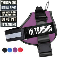 No-pull Dog Harness Outdoor Adventure Pet Vest W/ Patches- Small -Extra Large