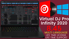 Virtual DJ Pro Infinity 2020 8.4.5 🎵Instant Delivery🔥Windows🔑Lifetime License